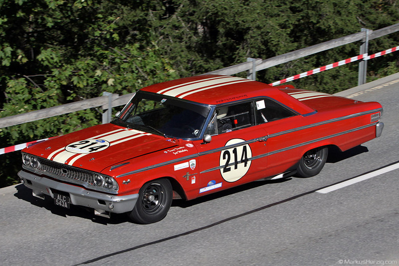 Ford Galaxie 500 - Alex Boller SUI @ Arosa Classic Car Switzerland  11Sep10
