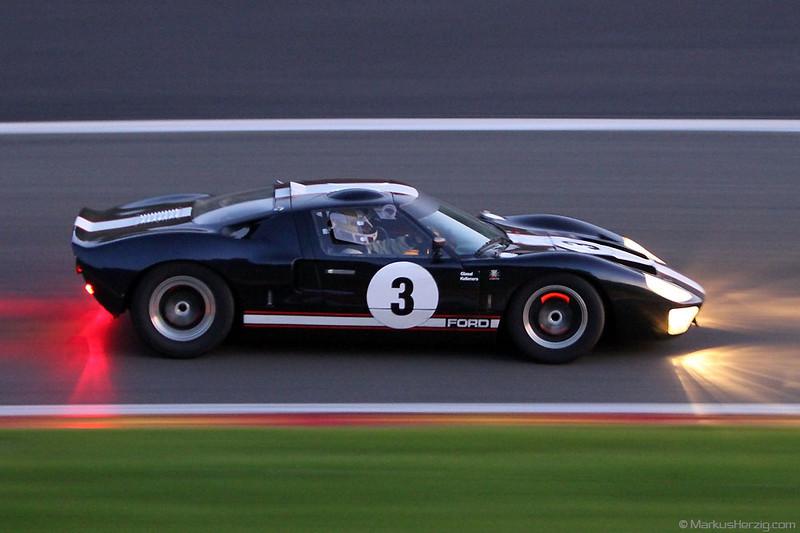 Ford GT40 - Christian Glaesel / Ralf Kelleners DEU  @ Spa Six Hours Belgium 24Sep11