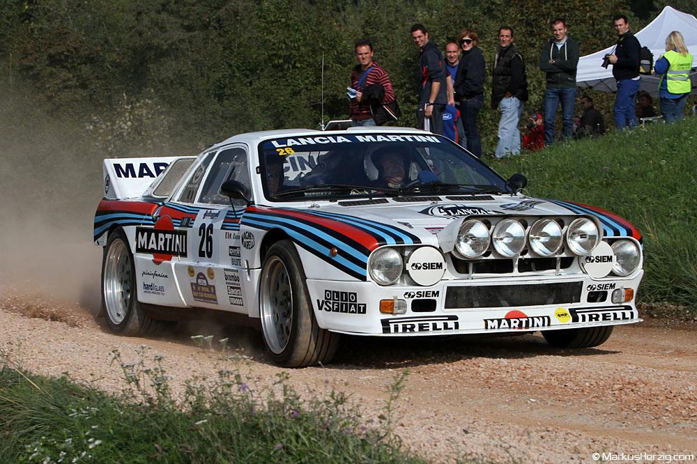 Lancia Rally 037 - Fulvio Furlan ITA @ Revival Rallye Valpantena Italy 19Oct12