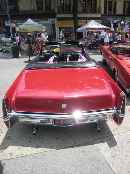 Cadillac, rear