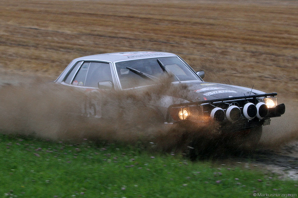 Mercedes 450 SLC 5.0 in Safari configuration - Andreas Bayer DEU @ Eifel Rallye Festival Germany 28Jul12
