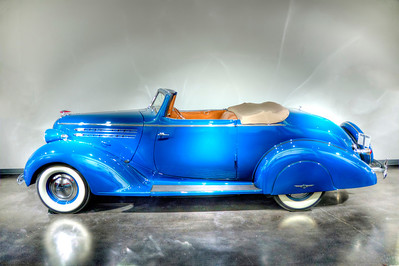 1936 Hudson, on display at the LeMay Car Museum, Tacoma, Washington.