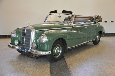 Mercedes Benz 300 Cabriolet 1953 Auto van koningin Wilhelmina