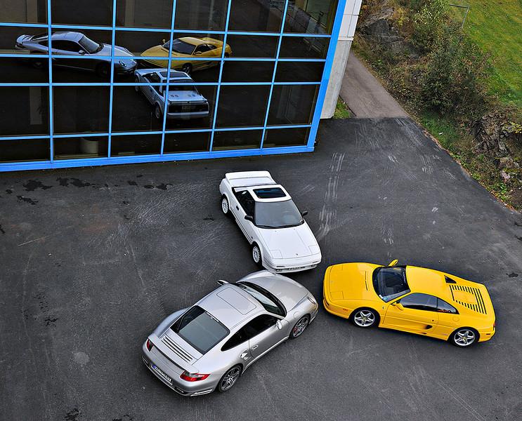 Toyota, Ferrari and Porsche