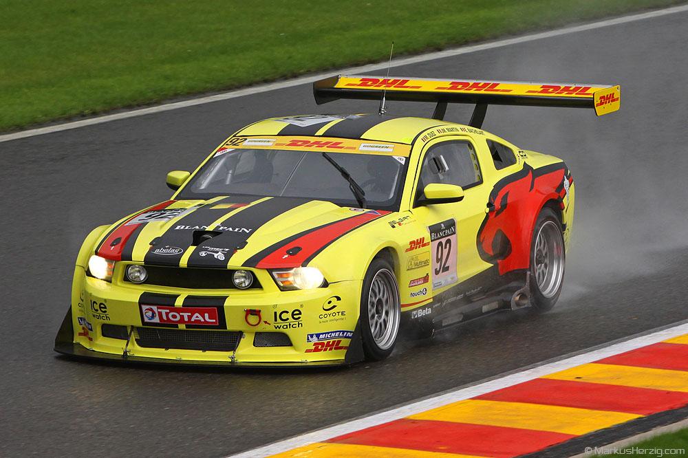 Ford Mustang FR500 - Marc VDS Racing Team - Duez/Martin/Bachelart BEL @ Spa Total 24 Hours Belgium 28Jul11