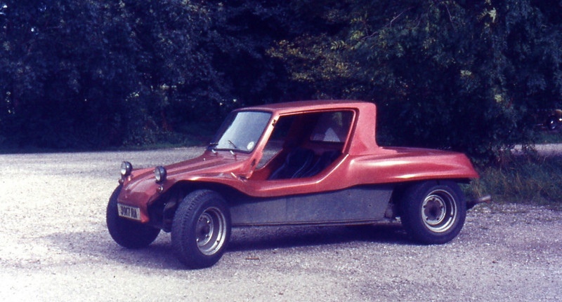 GP Speed Shop Beach Buggy I built from a 1963 VW Beetle when I was a teenager.