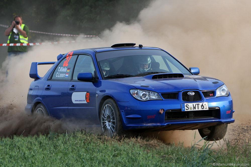 Subaru Impreza WRX sti - Timo Klein DEU @ ADAC Pfalz-Westrich Rallye Germany 6May11