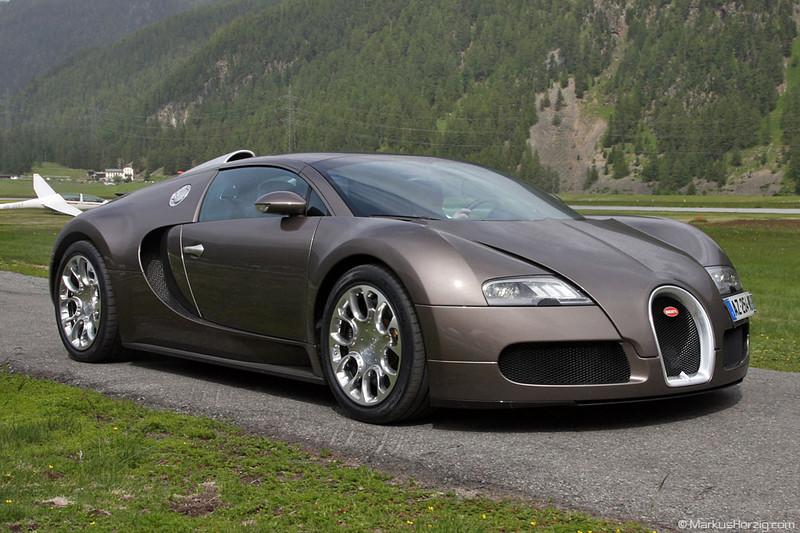 Bugatti Veyron Grand Sport @ Samedan Switzerland 25Jun11