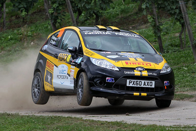 Ford Fiesta R2 - Brendan Reeves AUS @ WRC Rallye Germany 19Aug11