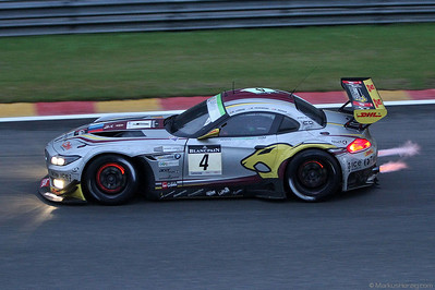 BMW Z4 - Marc VDS Racing Team - Longin/Hezemans/Moser @ Spa Total 24 Hours Belgium 29Jul12
