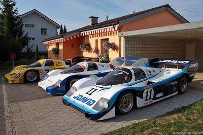 Porsche 956 - John Fitzpatrick Racing @ Bergprüfung Altbüron Switzerland 18Aug13