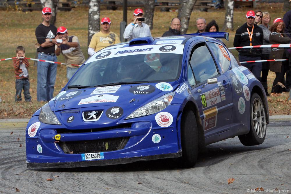 Peugeot 207 S2000 - Josias Rywalski SUI @ Rallye International du Valais Switzerland 30Oct10