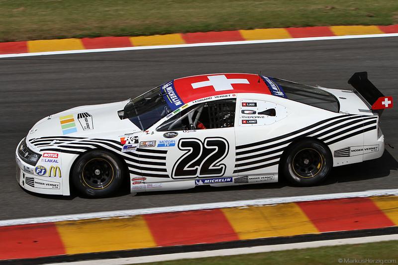 Euro Racecar Nascar TS - Stephane Jaggi / Leonard Vernet SUI @ Spa 200 BRCC Belgium 9Jun12