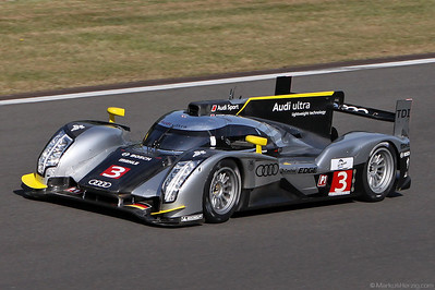 Audi R18 TDI - Audi Sport North America - Capello/Kristensen/McNish @ Spa 1000km Belgium 7May11
