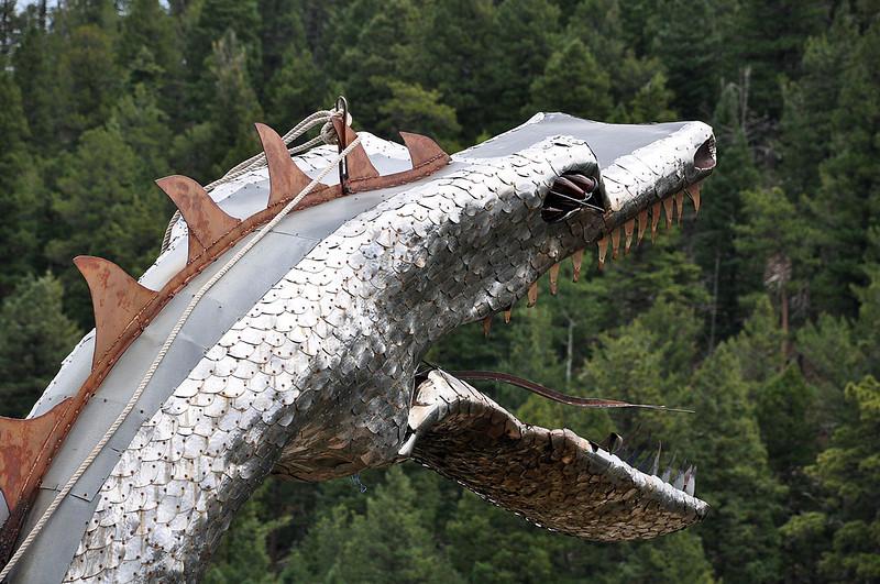 Bishop Castle Dragon.