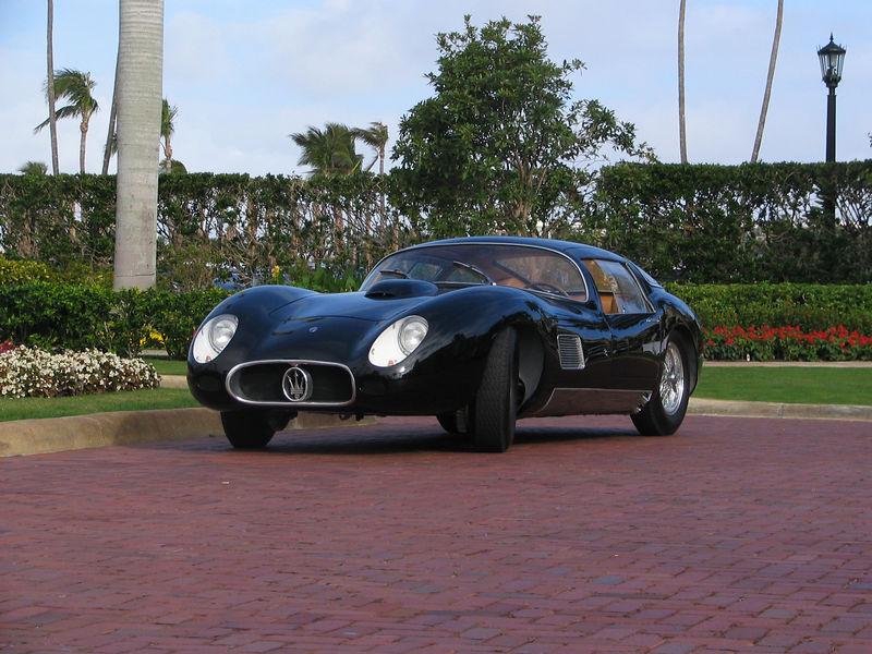 Maserati 450S Costin-Zagato Coupe