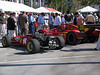Ferrari 312 F1 1968 (ex-Chris Amon) and Ferrari 333SP (1998 Daytona and Sebring winner)