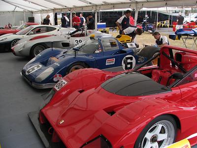 Ferrari 333SP, 512, 250TR, 430