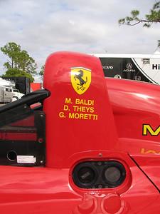 Ferrari 333SP #016, winner of the 1998 Daytona 12 Hours and Sebring 12 Hours