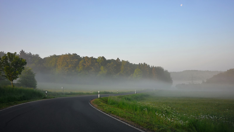 Drive from Nurburg to Spa