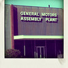 Photo of the old GM Assembly Plant in Doraville, Georgia, which closed in 2008.