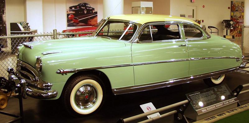 1953 Hudson Hornet Club Coupe.