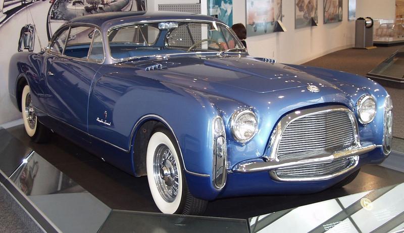1953 Chrysler special show car, body by Ghia.