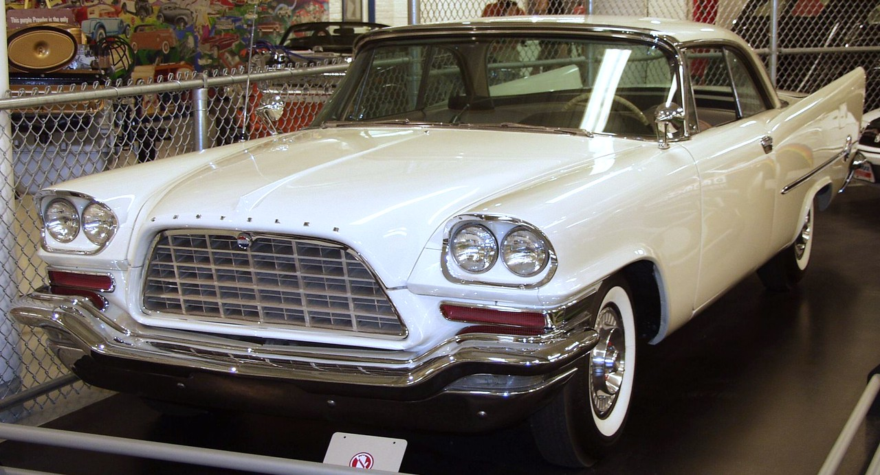 1957 Chrysler 300C.  This big car could hit 60 in 7.7 seconds and achieve a top speed of 145 mph.