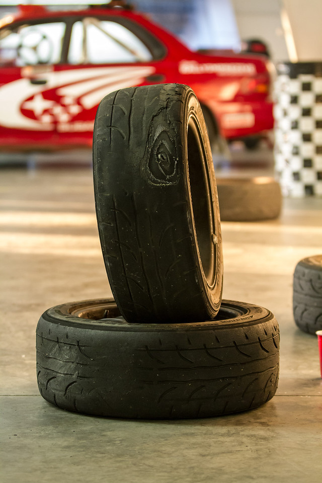 Our first set of tires