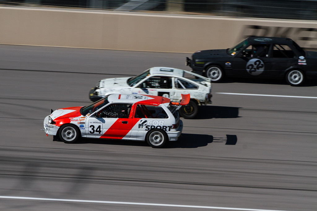 3 wide down into turn 1