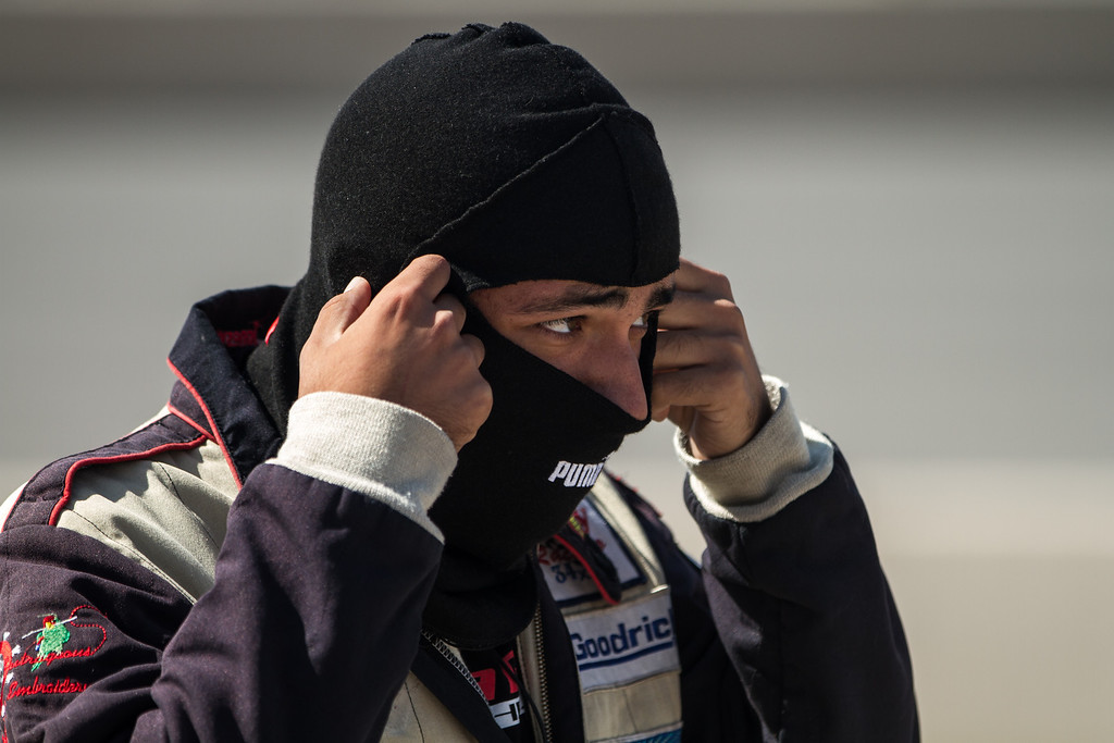 Me getting ready for my first stint in the car day 1.