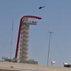COTA tower, no he is not landing on it !