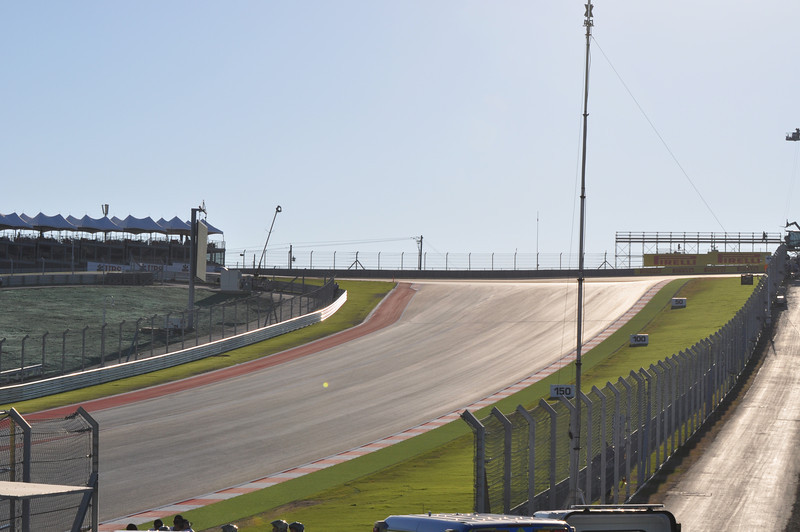 a cold morning before first practice at COTA, temps in upper 30's