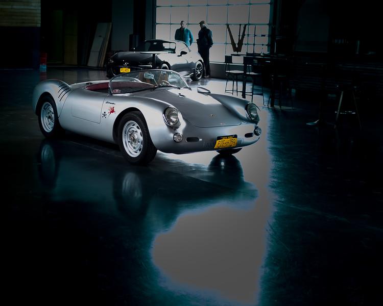 1956 PORSCHE 550 SPYDER & 2016 MAZDA MIATA