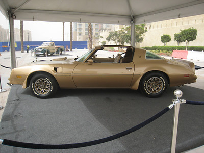 Now we're talking - a beautiful Trans Am.