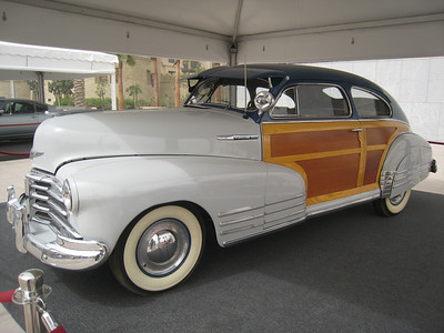 With wood grain doors and white wall tyres, its hard to know what to say about the Fleetline.