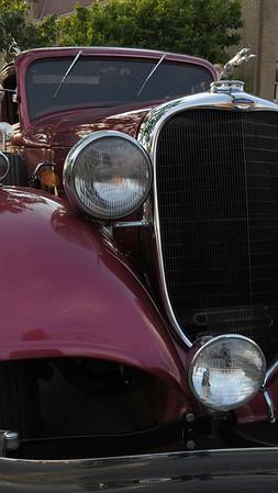 Classic Car Show in Wilmington, Ohio, 6/1/2012