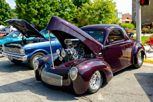 1941 Willys Coupe - Blown 502