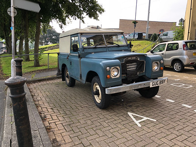 """1983 Land Rover 88"""""""