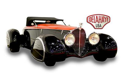2003 Delahaye Custom Boattail Speedster