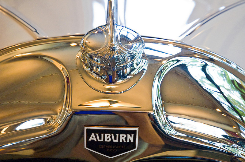 Although the first Auburn was introduced in 1900 as the small print on this Auburn label reads, it was not until the genius of Errat Lobban Cord took over in the mid 20s that the marque really soared. Stylistically, they were one of the two most advanced production cars in the country. The other came out of the same factory and bore Mr Cord's name.