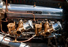 Engine room of normally aspirated 4.5 liter Bentley