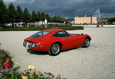 Toyota 2000GT, very rare in Europe