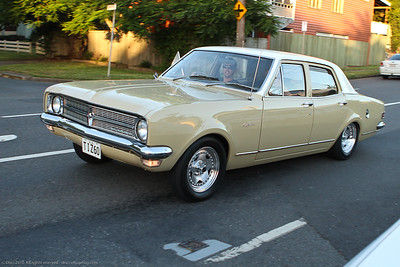 Classic & Restored Cars - Inner North Brisbane, Queensland, Australia; 22 January 2011. Photos by Des Thureson - http://disci.smugmug.com