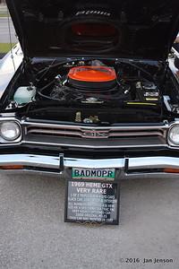 1969 Hemi GTX - very rare - Winnipeg Classic Car Show @ Pony Corral parking lot on Grant Avenue  8-7-16