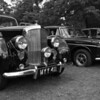1952 Bentley R Type and 1972 Rover 3.5 litre