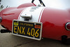 PERIOD CORRECT - Notice how mid-1960s license plates displayed tags for two years, alternating corner to corner. ENX 406 for 1965 and 1966.