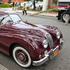 Jaguar XK120 in the Concours on the Avenue - Ocean Avenue, Carmel by the Sea, CA, Tuesday August 10th, 2010