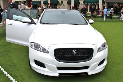 The Jaguar XJ75 Concept car.  Pebble Beach Concours d'elegance. August 15th, 2010