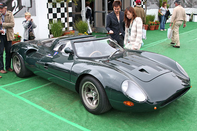 A replica XJ13 at the  Pebble Beach Concours d'Elegance.